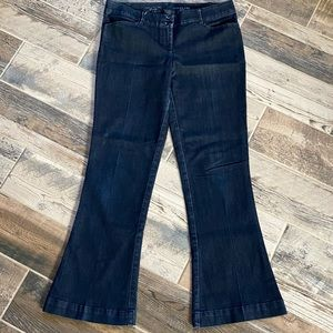 The Limited Denim Fit and Flare Jeans